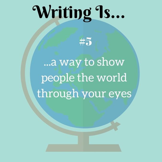 #5 Writing Is...